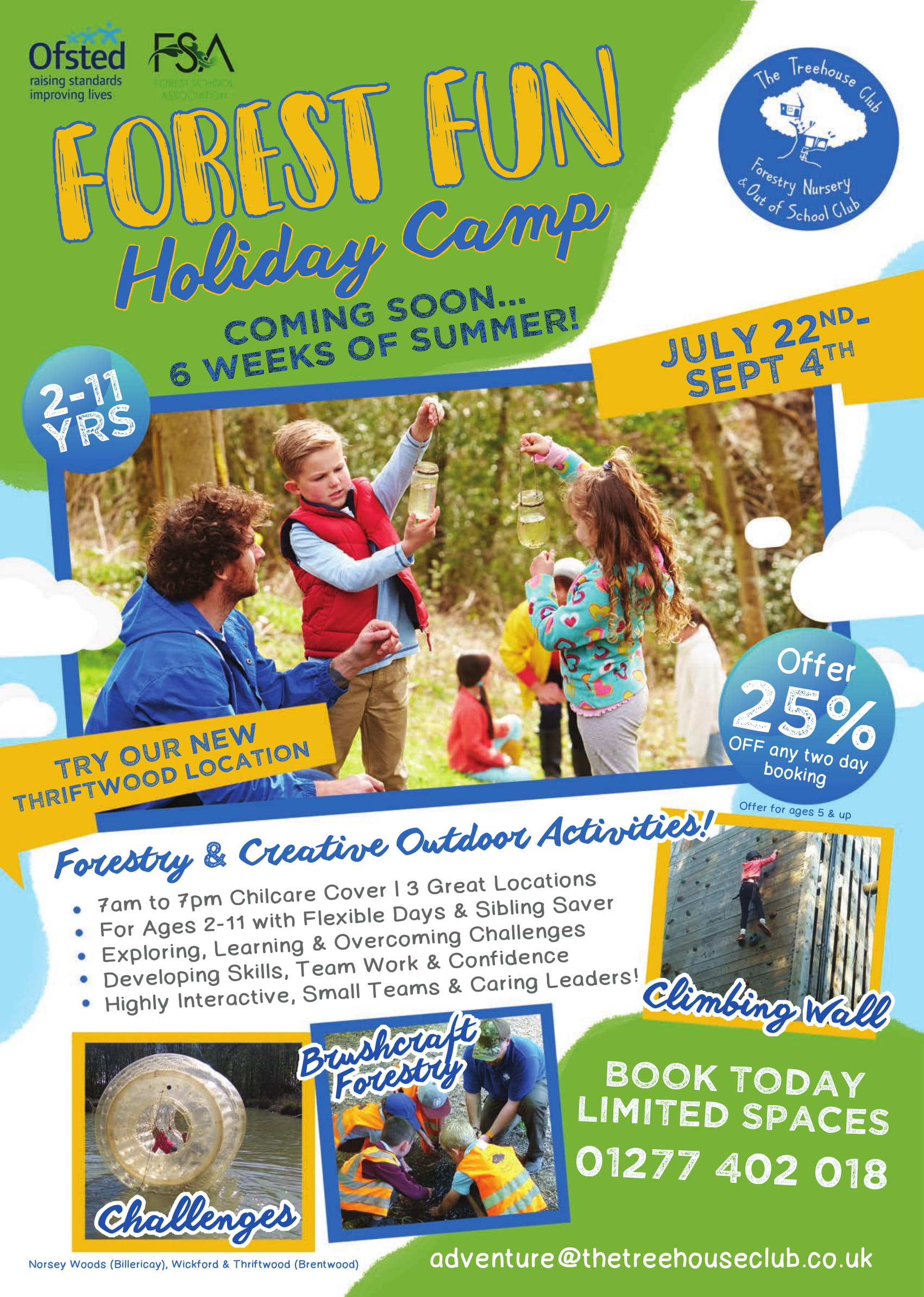 Forest Fun Holiday Camp