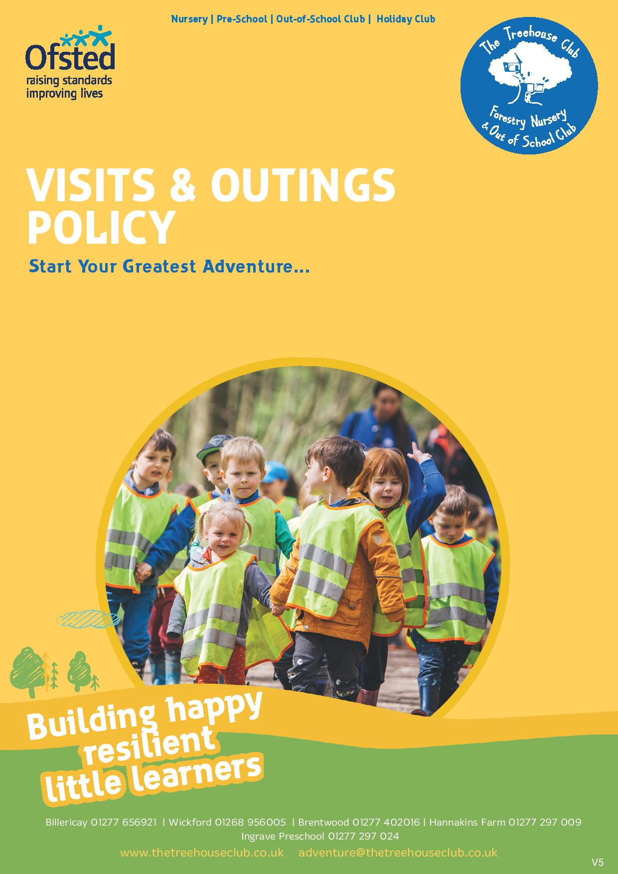 Visits and Outings Policy